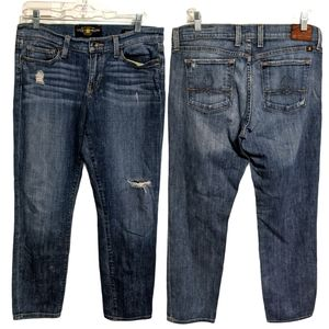 Lucky Brand Sofia Capri Jeans Size 8/29 EUC